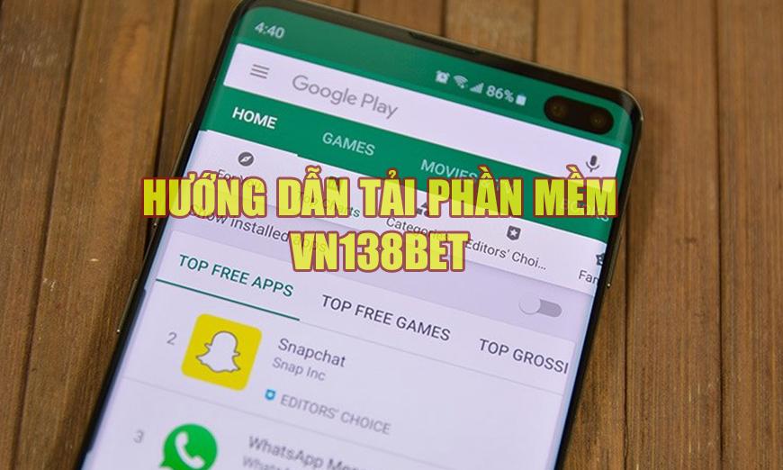 Tải phần mềm VN138bet về điện thoại