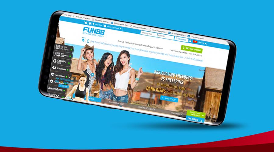 Nhà cái cá độ đá banh Fun88 - Sân chơi cá cược trực tuyến hàng đầu