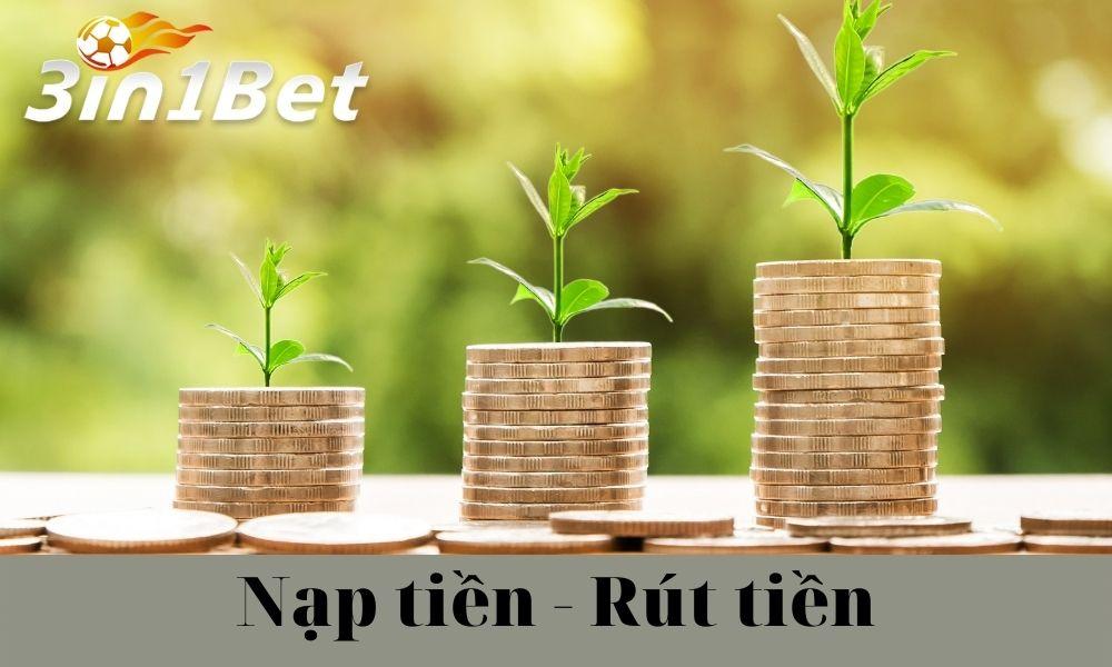 Hướng dẫn Nạp tiền – Rút tiền 3IN1BET từ ngân hàng Việt Nam